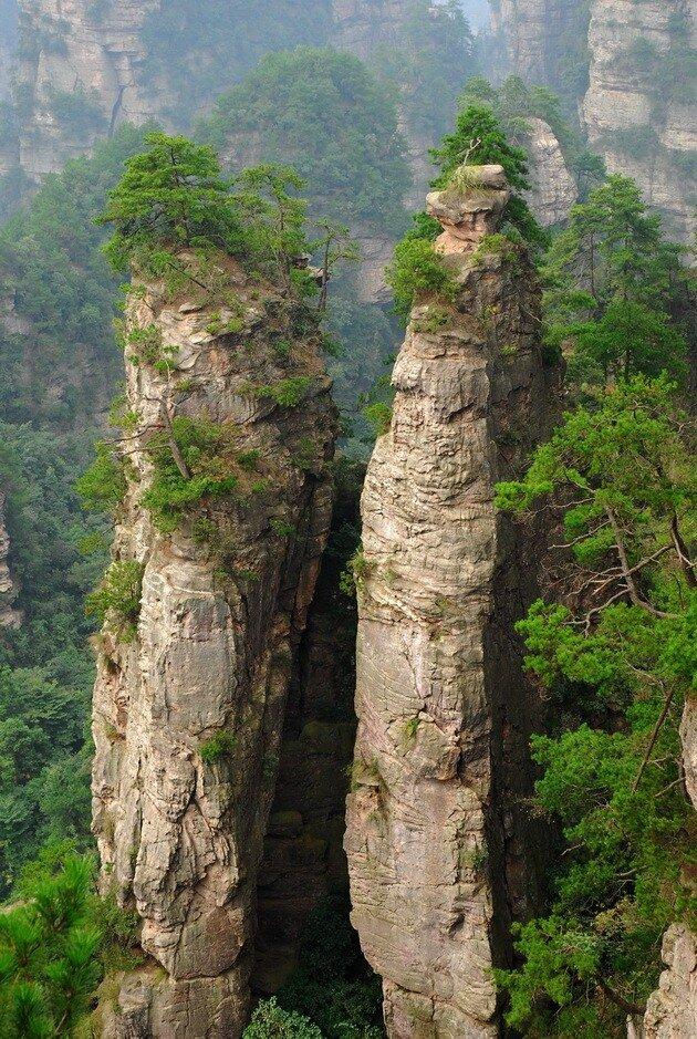 Национальный парк Чжанцзяцзе (Горы Улинъюань). Китай