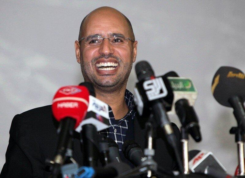 Seif al-Islam Kadhafi, son of Libyan str