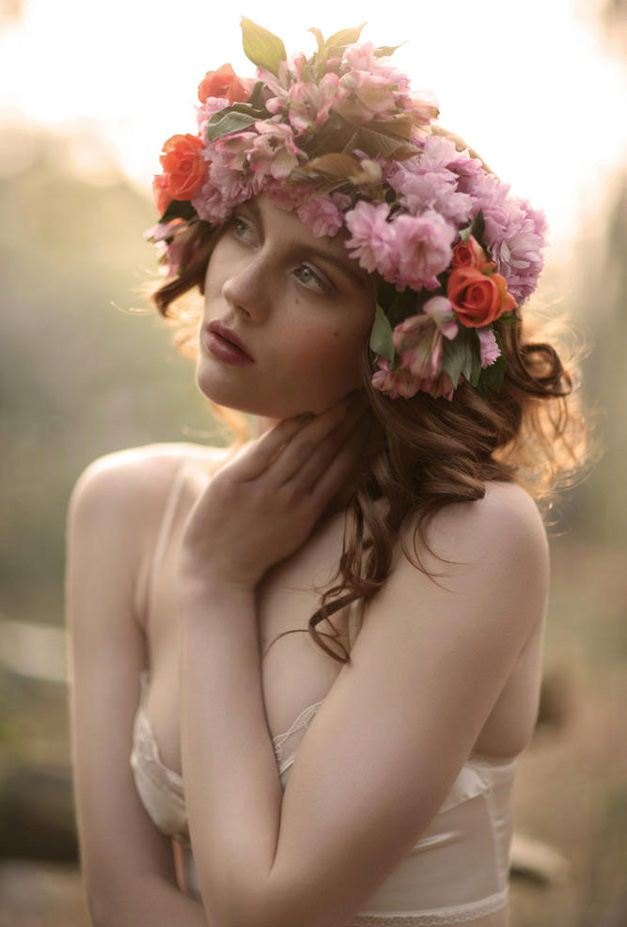 модель Холли / Holly, фотограф Natalie J Watts