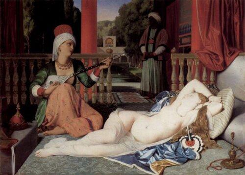 Энгр, Одалиска и рабыня, 1842 г.
