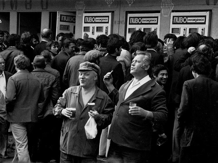 Фото Александра Гращенкова«После смены» Норильск, 1978