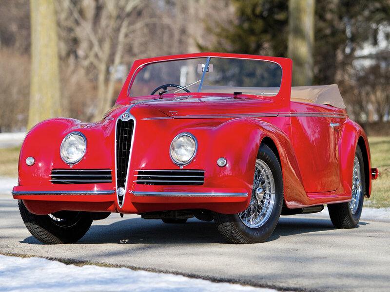 Alfa Romeo 6C 2500 Sport Cabriolet '1942