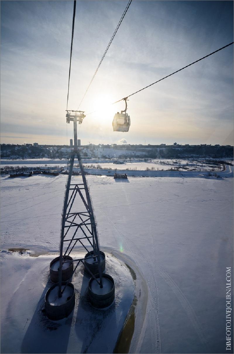 Канатная дорога, соединяющая Нижний Новгород и Бор (48 фото) .
