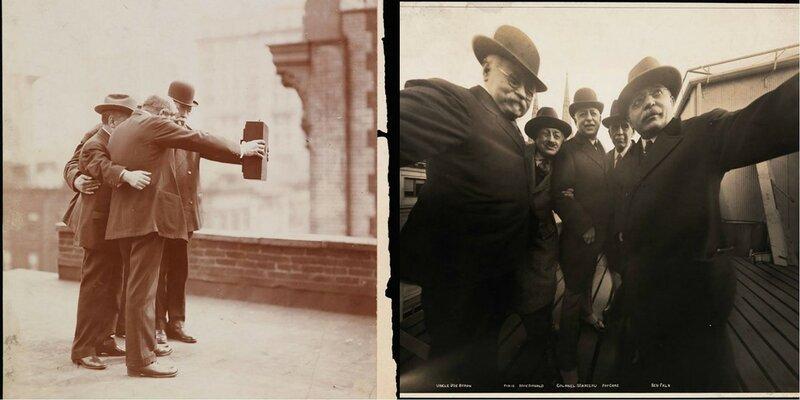 Наверное первые селфи в мире - Probably the first selfies in the world 1920