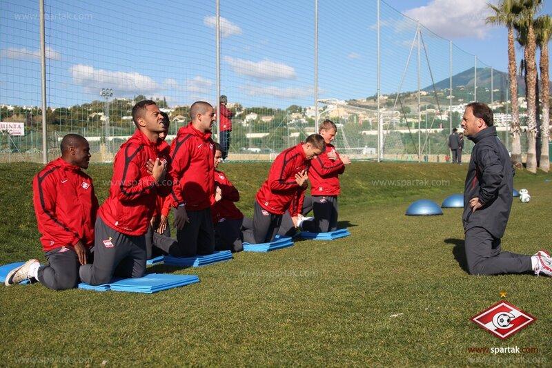 Тренировка «Спартака» в Марбелье (Фото)