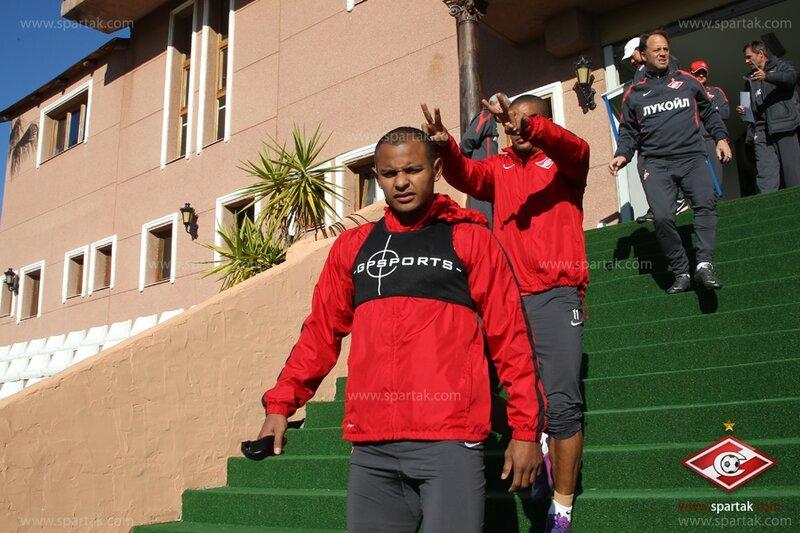 «Спартак» тренируется на сборе в Испании (Фото)