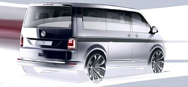 Скоро будет представлено очередное поколение Volkswagen Transporter