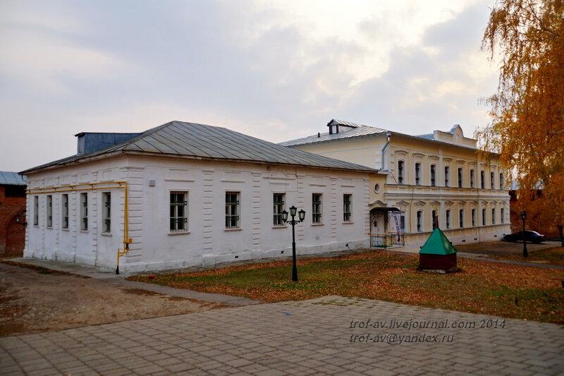 Городской магистрат 19 в. и музей. Зарайский кремль