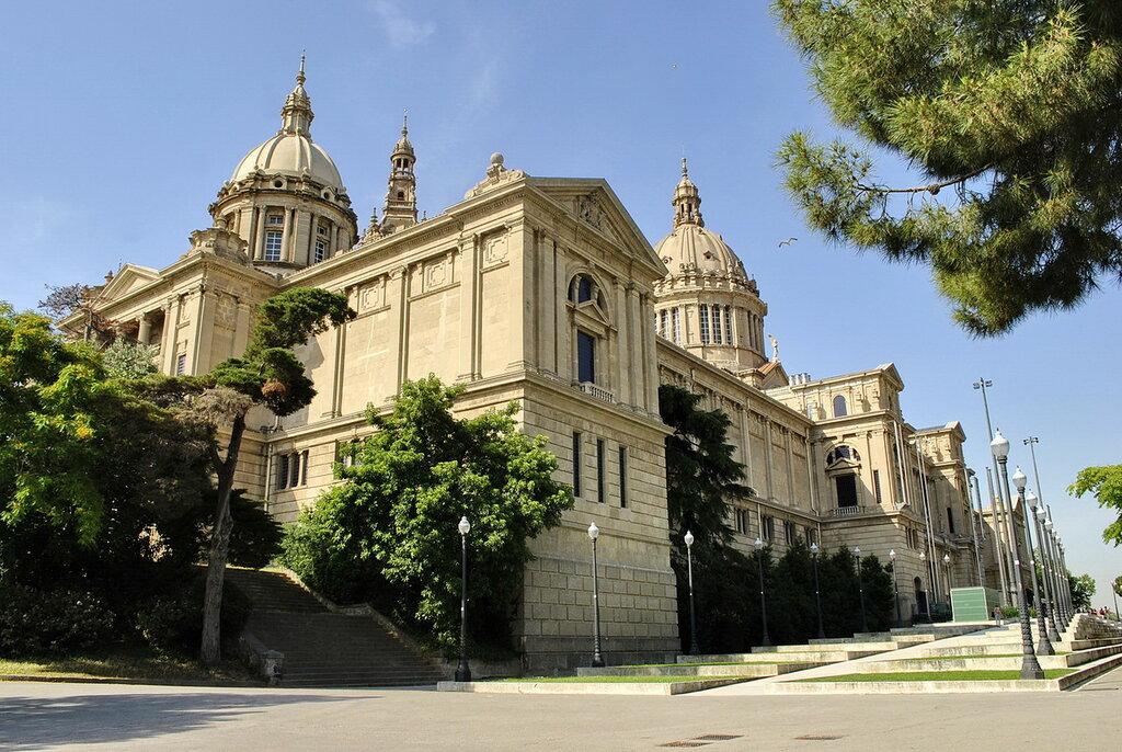 Palácio Nacional em Barcelona