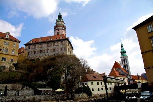чески-крумлов, чехия, замок