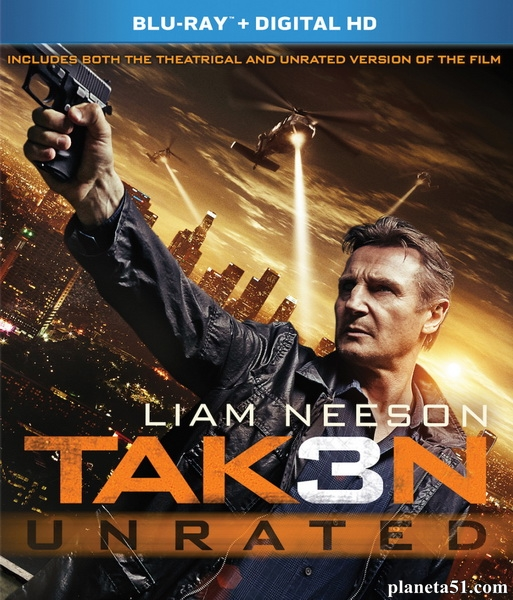 Заложница 3 [Расширенная версия] / Taken 3 [EXTENDED] (2014/BDRip/HDRip)
