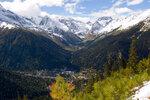 Вид на долину Алибек
