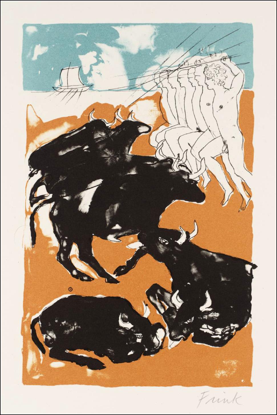 The Odyssey, Elisabeth Frink