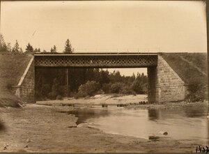 Вид железнодорожного моста на 236-й версте.