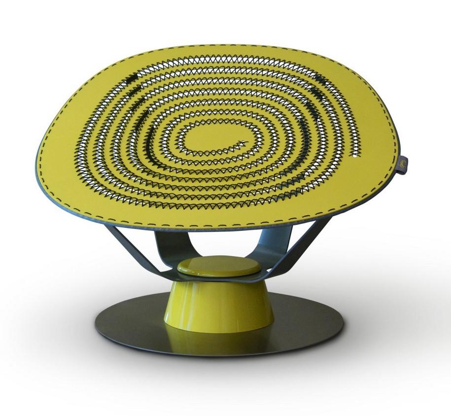 Кресло Sprung от Jason Klenner