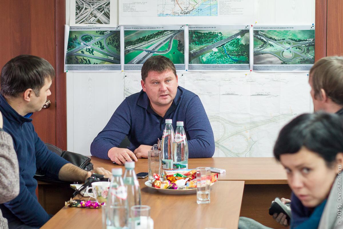 Строительство автодороги в обход Елшанки 21