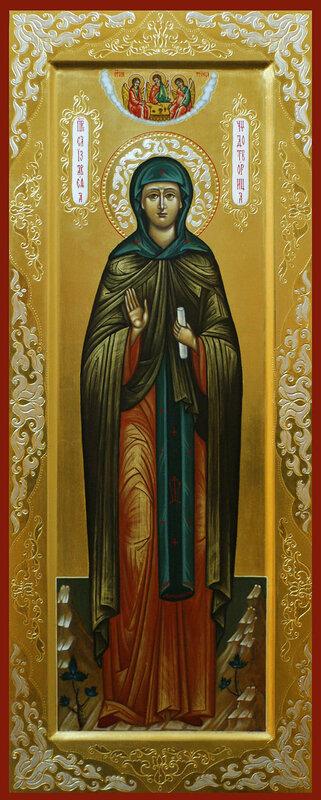 святая Елисавета Константинопольская чудотворица