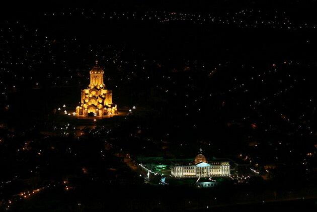 Свято-Троицкий собор (Цминда Самеба). Тбилиси, Грузия