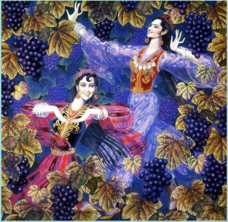 Персидская сказка. Махмуд Фаршчиян