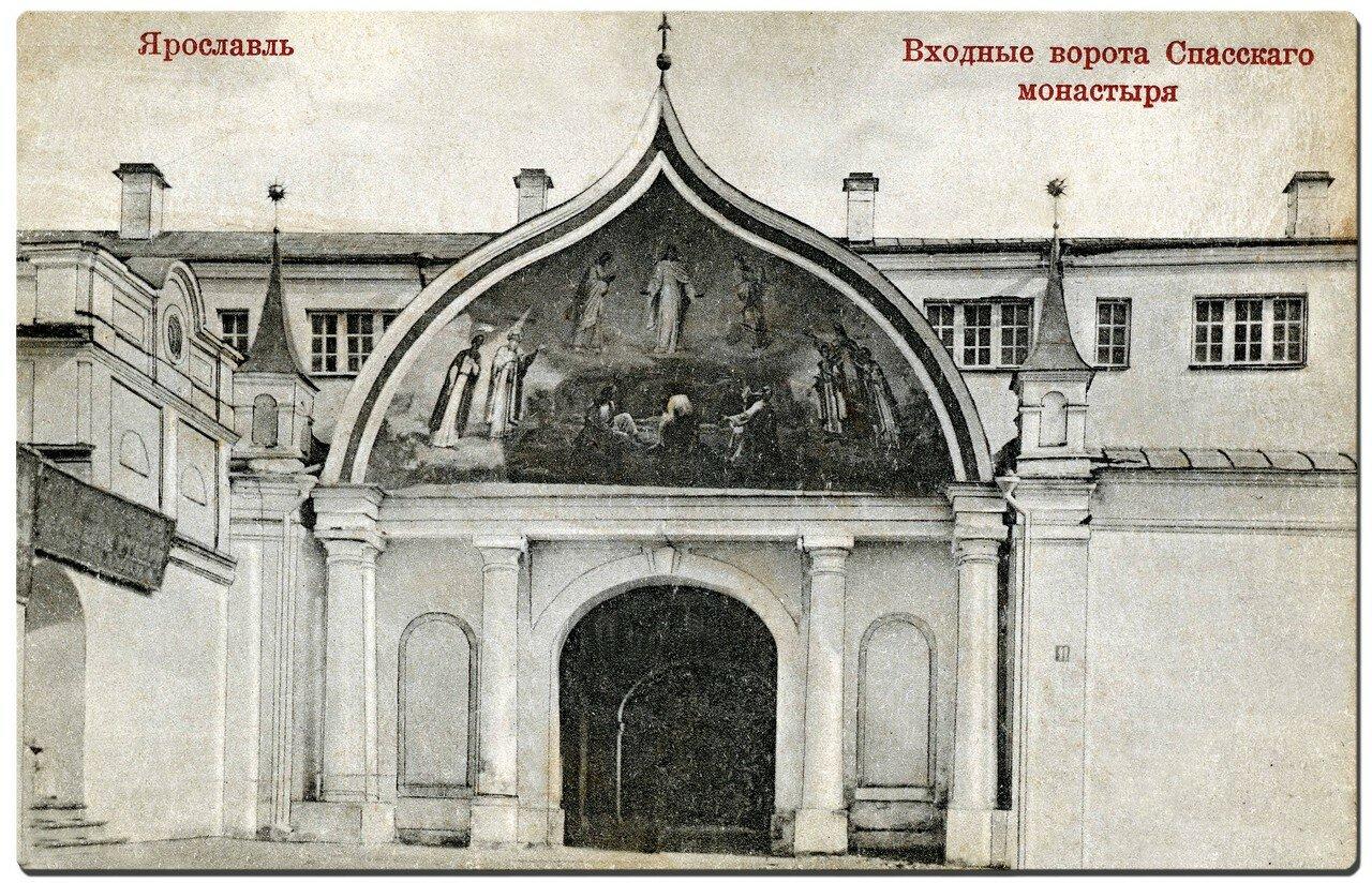 Входные ворота Спасского монастыря
