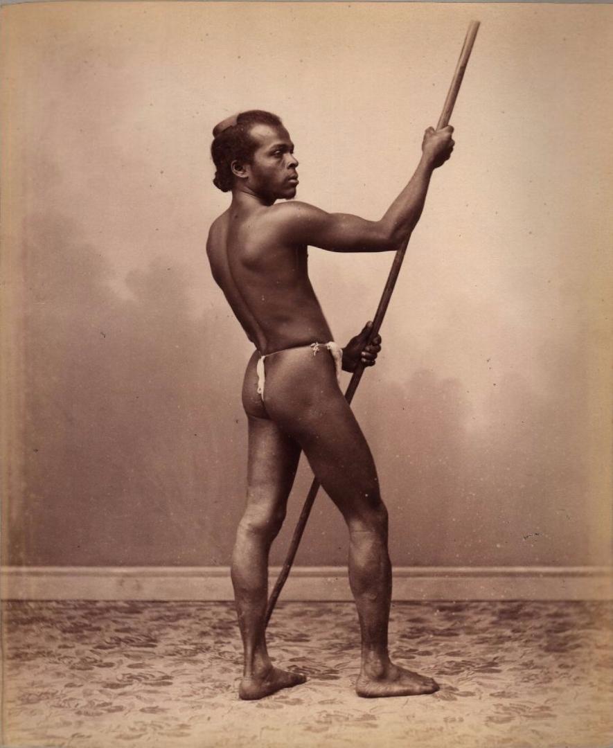 Студийный портрет сингальца. 1880
