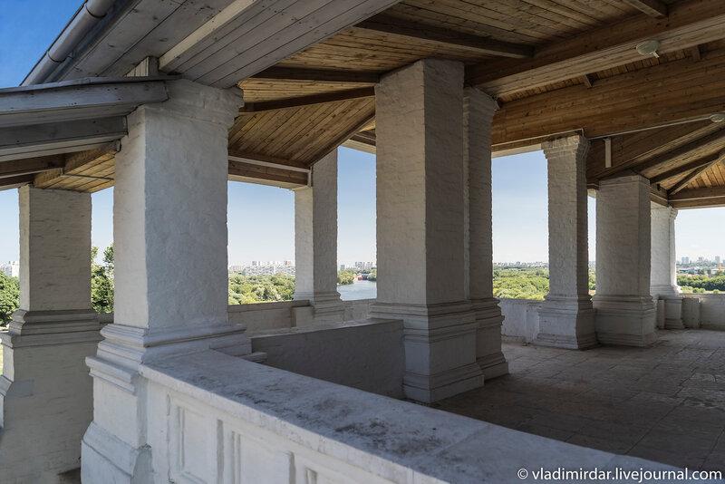 Гульбище Храма Вознесения в Коломенском