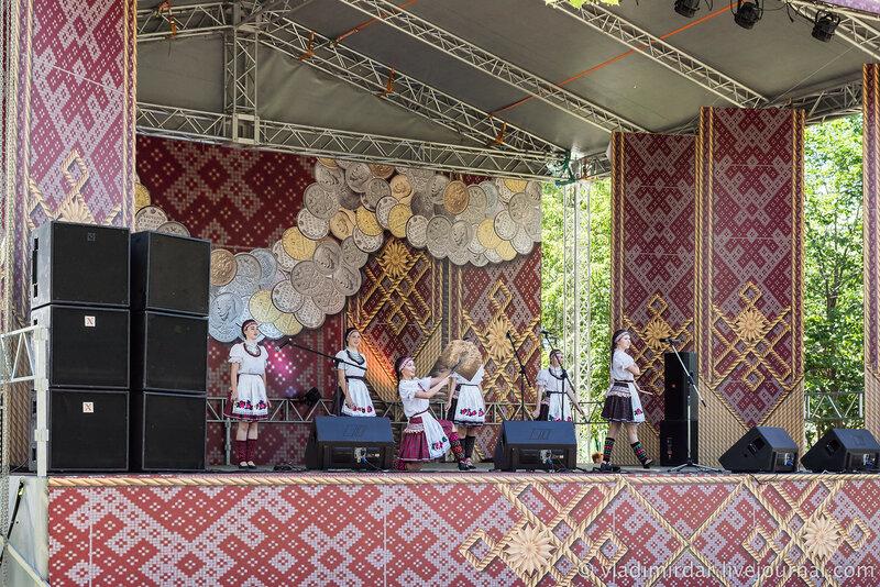Национальный удмуртский праздник Гербер. 2015. Москва. Парк искусств Музеон.