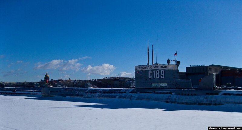 Подводная лодка С-189. И вот наконец цель моего путешествия.