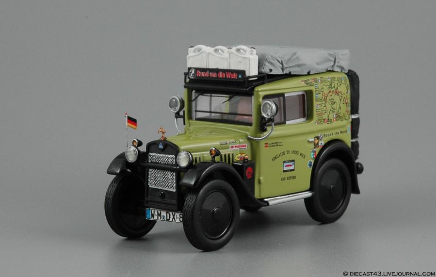 """Dixi Lieferwagen """"Rund um die Welt / Round the world"""" Schuco"""