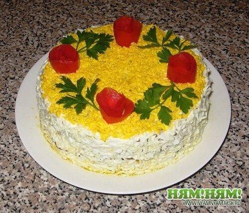 Печёночный торт_№2