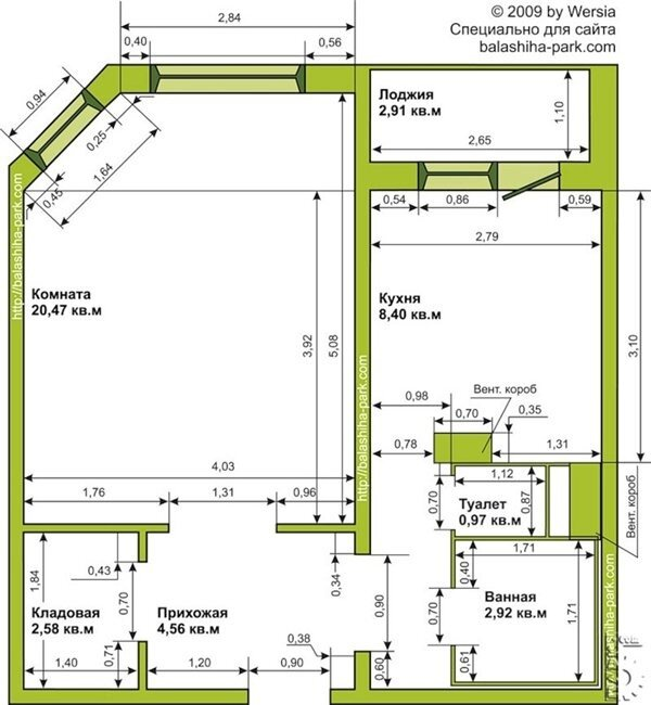 Схемы Планировки Квартир