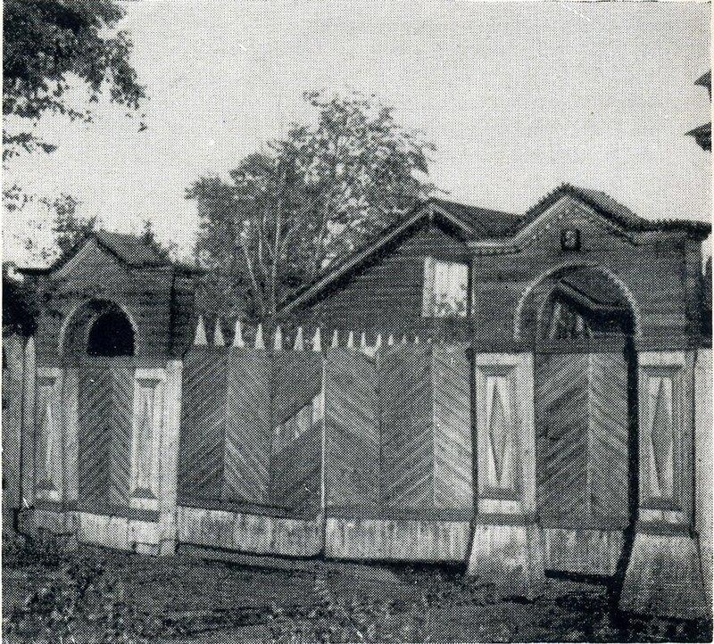 Дом №5 на Первомайской ул. Ворота.