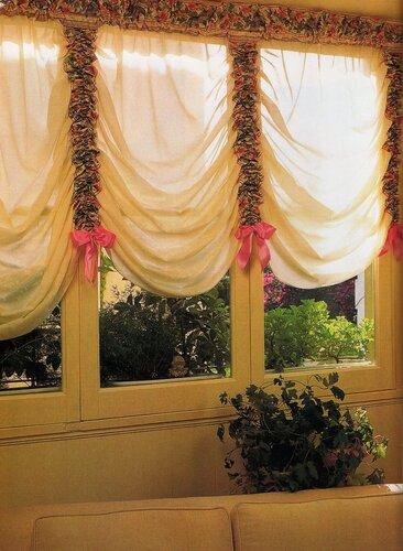Как сшить шторы своими руками: шторы в венецианском стиле
