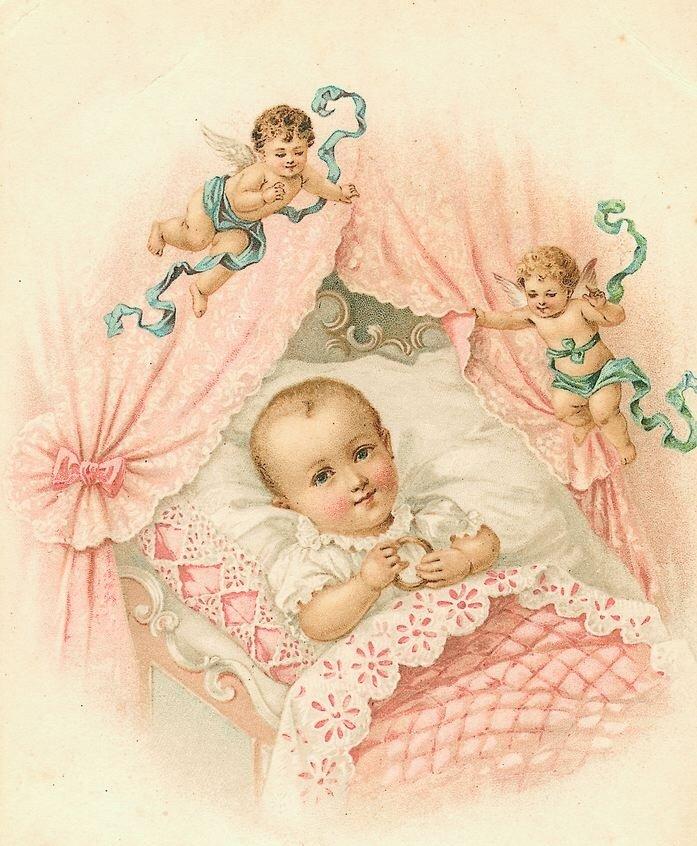Открытки с новорожденным старые, парижа открытки
