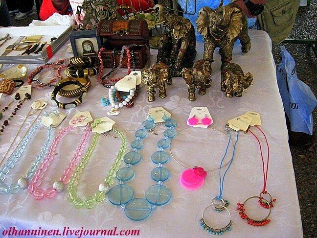 Израиль рынок базар Тель-Авив вещи украшения