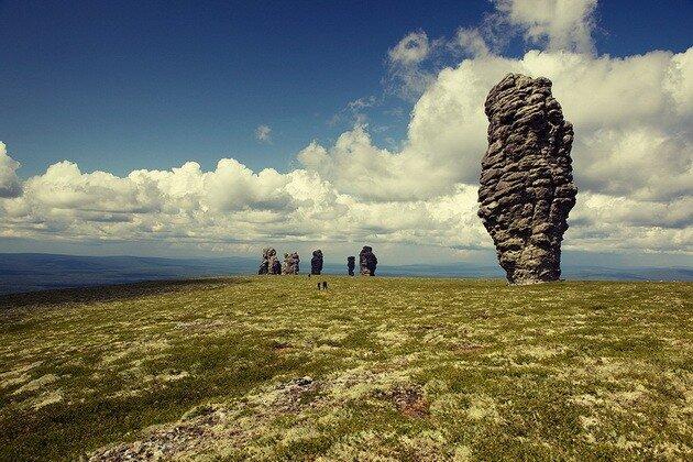 Столбы выветривания на горе Мань-Пупу-нёр