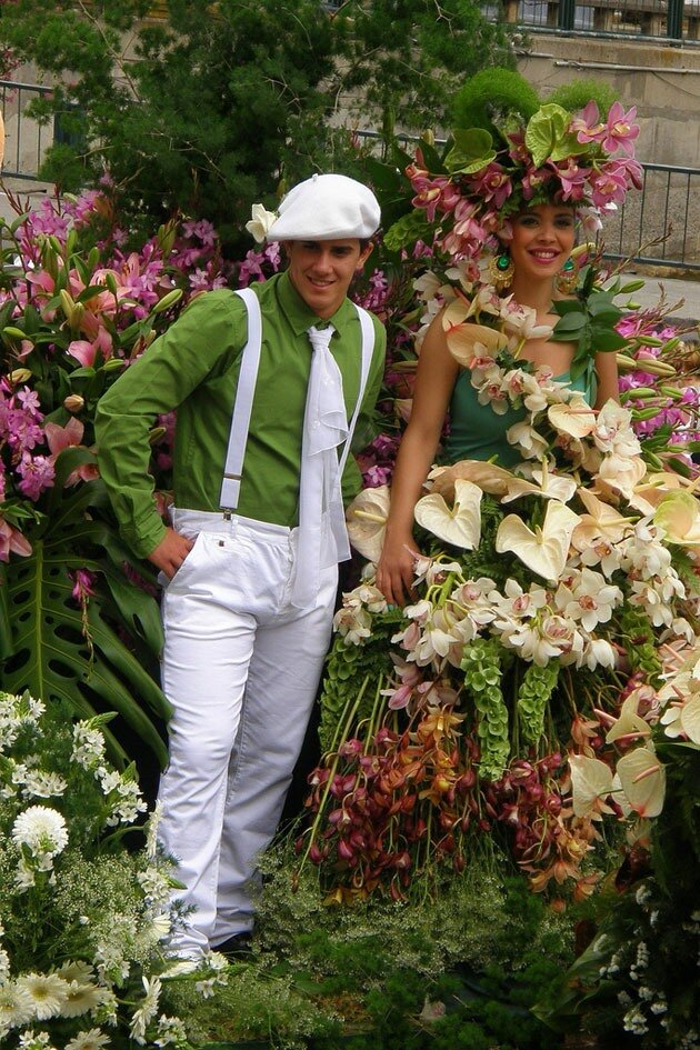 Фестиваль цветов на Мадейре