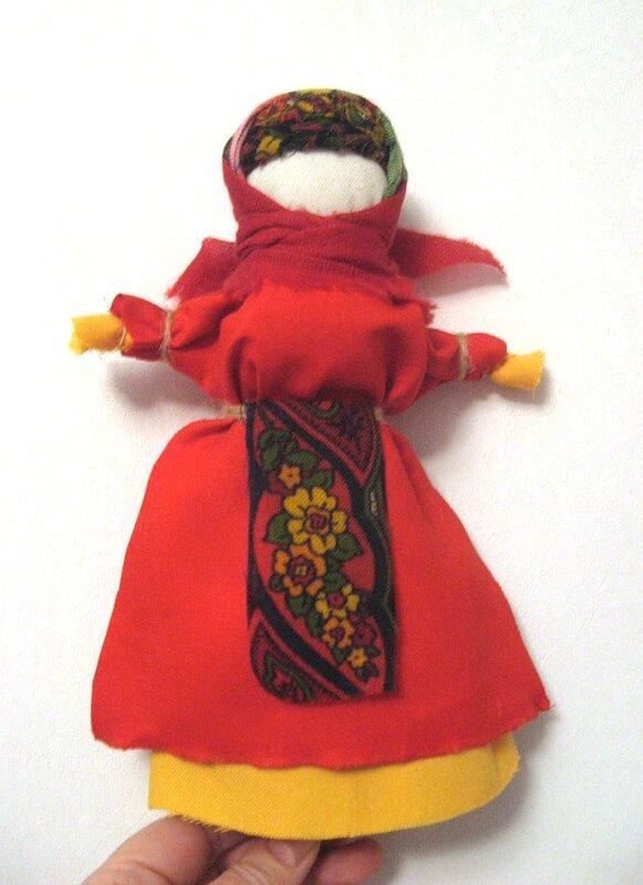 Кукла Масленица - Тридевятое Царство