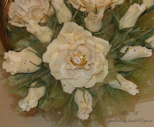 Чайные розы (средняя)