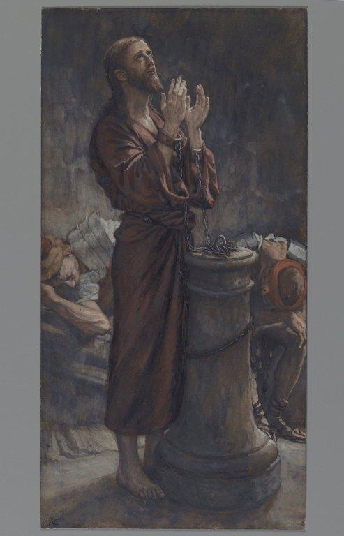 Brooklyn Museum: Good Friday Morning: Jesus in Prison (Le matin Vendredi Saint: Jésus en prison)