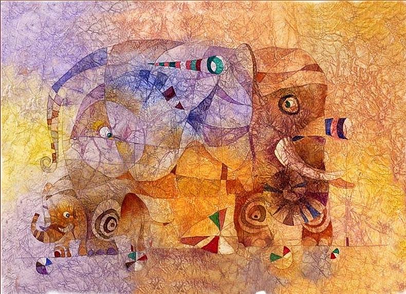 Слон. Авторы Сабир и Светлана Гаджиевы