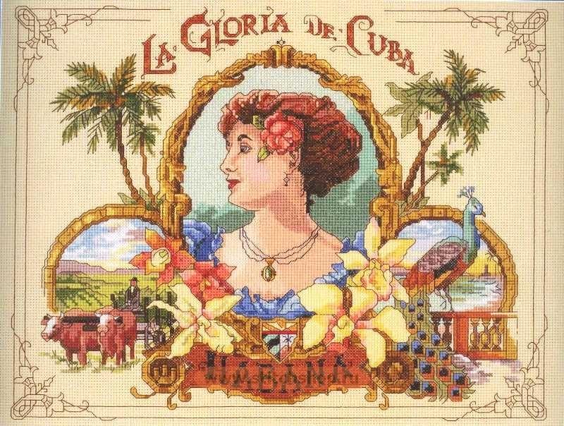 Вышиваю: Janlynn, la gloria de