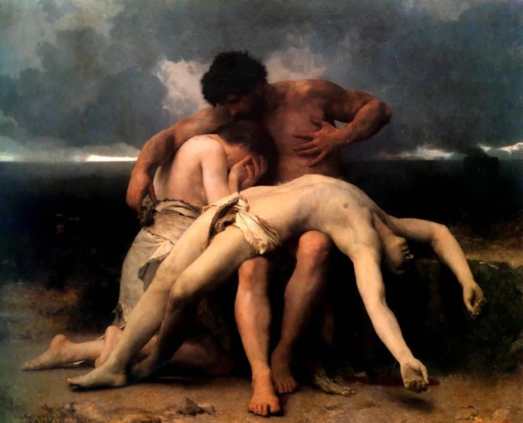 Бугеро, Первый траурный плач. 1888 г.