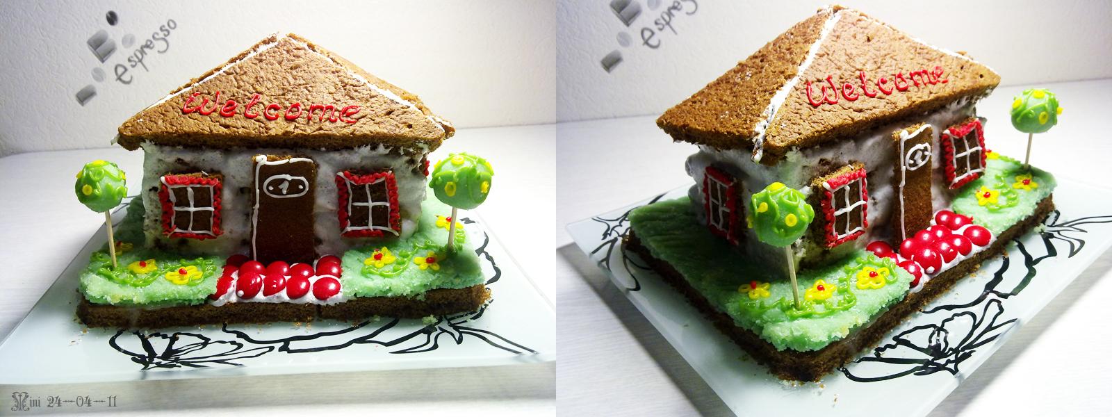 Торт дом как его сделать 614