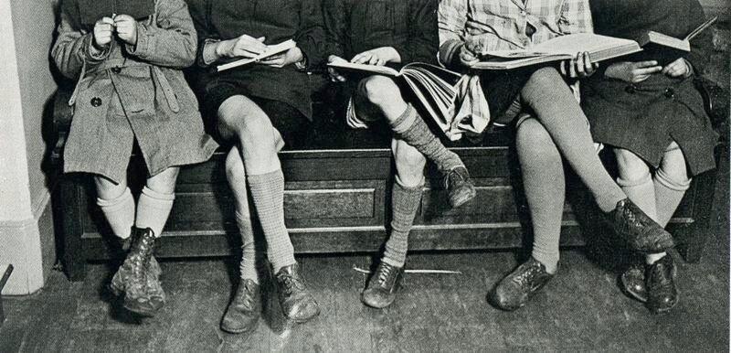 """André Kertész """"On Reading"""""""