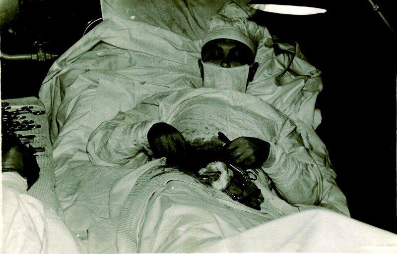 Леонид Рогозов - хирург, сделавший операцию по удалению аппендицита сам себе