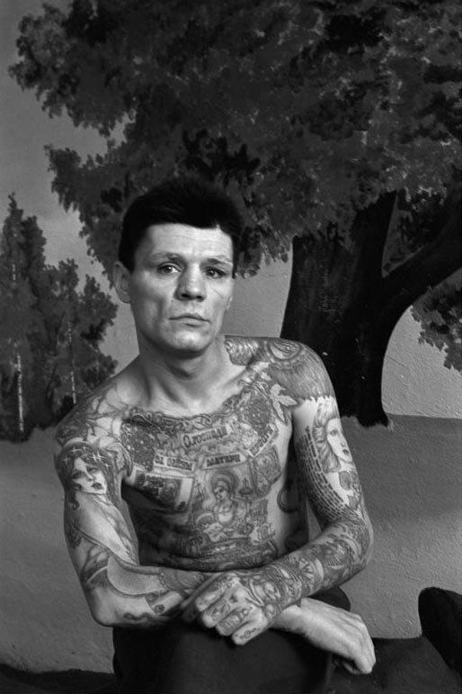 Уголовные татуировки .Фото Сергея Васильева