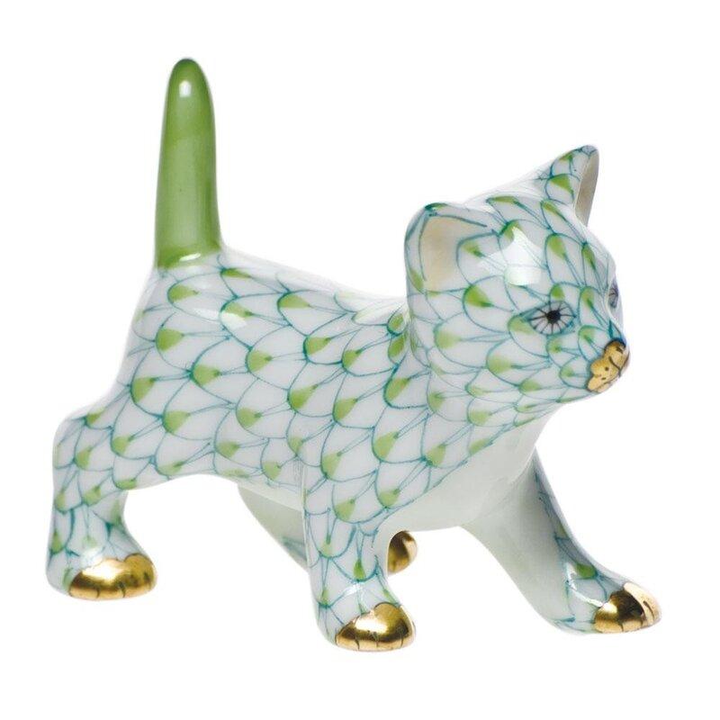 фарфоровые кошки от Herend - LJILJANA