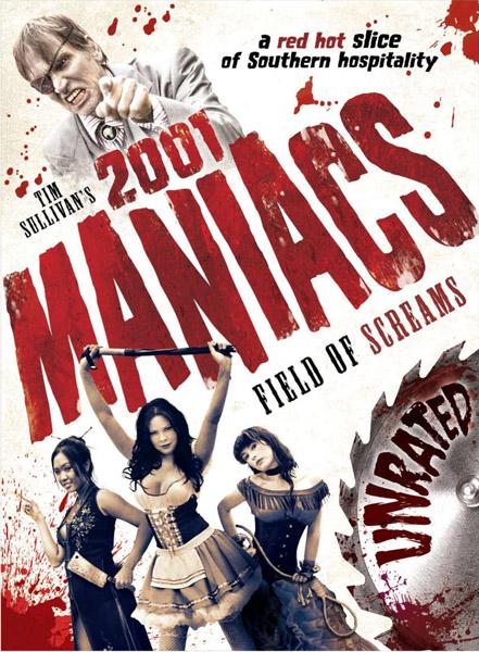 2001 маньяк: Территория криков / 2001 Maniacs: Field of Screams (2010) DVDRip