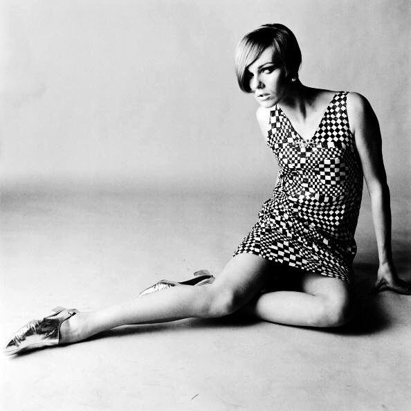 Nicole de la Marge by Brian Duffy, 1965.jpg